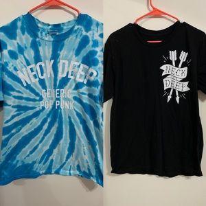 Neck Deep 2 Rare TShirt Bundle